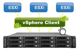 Manage QNAP NAS within vSphere